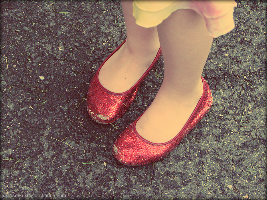 photoblog image princess shoes